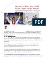 Sri Lanka Calls on International Help to Find Former First Family's Alleged Foreign Fortune