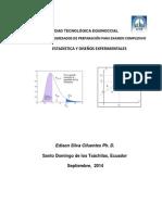 Estadística y Diseño Experimental
