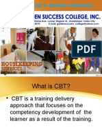 Competency- Based Training Maricel