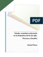 1.Filmus_estado, Sociedad y Educacion en Arg..de Fin de Siglo