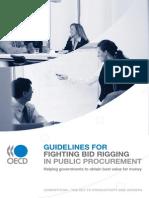 Guidelines for Fighting Bid Rigging in Public Procurement