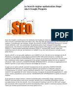 Fare Posizionamento Search engine optimization Dopo Search engines Panda E Google Penguin