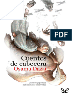 Dazai, Osamu - Cuentos de Cabecera