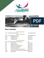 Laguna Lang Co Marathon - Race Schedule