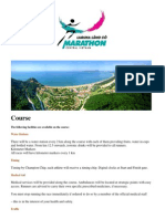 Laguna Lang Co Marathon Course