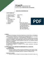 Silabo de Microbiologia 2015-II-final