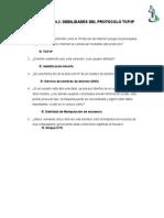 Debilidades de Los Protocolos TCP IP