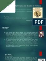 Max Weber La Etica Protestante y El Espìritu Del Capitalismo