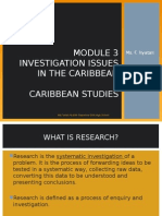Module 3 Investigating Issues in the Caribbean[1]