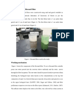 Disinfection Using Biosand Filter