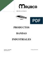 Lista de Precios P. Bandas Industriales MA-T0511