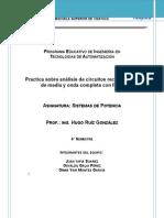 Practica de laboratorio Puente Rectificador Con Filtro