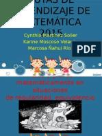 RUTAS DE APRENDIZAJE DE MATEMÁTICA 2015 2.pptx