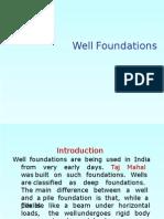 Well Foundation Design