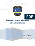 Curacao EGaming Guidance Notes August 2012