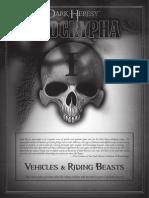 Dark Heresy Apocrypha Vehicles