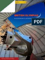 British Astronomy Olympiad 2015