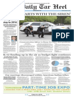 The Daily Tar Heel for August 18, 2015