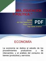 Economía Educación y Política.