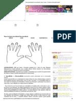 Plano de Aula Lateralidade Direcionalidade _ Ideia Criativa - Gi Barbosa Educação Infantil