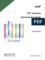 Checkpoint R77 VoIP Guia de Administracion