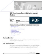 GRE Tunneling on Cisco 12000 Series Internet Routers