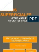 MICOSIS SUPERFICIALES