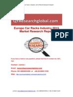 Europe Car Racks Industry 2015 Market Research Report
