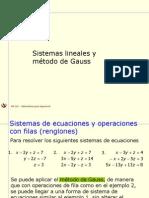 Modulo 33 Sesion12 1 Sistemas Lineales y El Metodo de Gauss