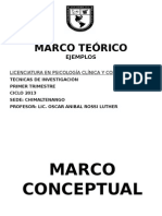 Marco Teorico, UPANA