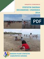 Statistik Kecamatan Cinangka 2014