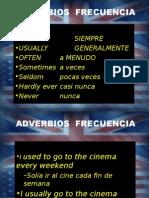 ADVERBIOS FRECUENCIA