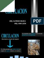 Criterios de circulación en el diseño