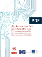 Big Data and Open Data as Sustainability