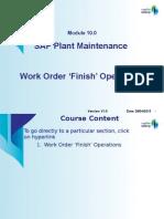 Module10.0 PM WorkOrder Operation Finish 28 04 2013 V1.0