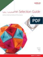 Gc Column Selection Guide