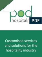 POD Hospitality Presentation August 2015