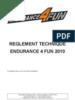 Reglement Technique E4F