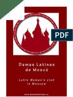 Brochure Damas Latinas de Moscú (Español - English)