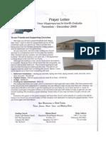 Baker Prayer Letter