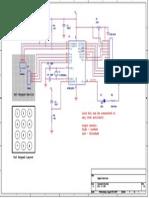 Digital Code Lock Schematic