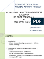 Modelling analysis and design of International Airport