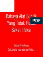 Bahaya Alat Suntik (Dr.samhari)