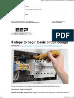 EEP - 8 Steps to Begin Circuit Design