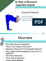 01 Role of Research- Kapil Deb Subedi