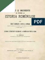 n Iorga-Istoria Romanilor