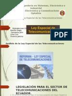 Seminario Ley Especial de Las Telecomunicaciones (1)