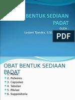 BSO Padat