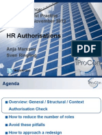 Docslide.us Sap Hcm Authorisations Streamline Processes and Improve Hr Data Security