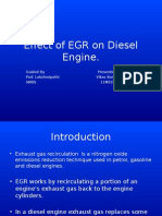 Effect of EGR on Diesel Engine.pptx